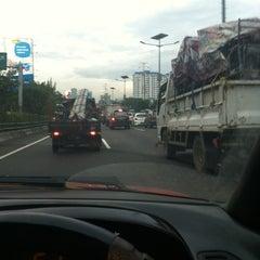 Photo taken at Jembatan Semanggi by Crassa J. on 7/5/2013