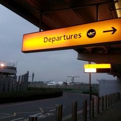 Photo taken at Southampton Airport (SOU) by Pete C. on 5/18/2013