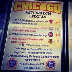 Photo taken at Chicago Hotdogs by Richard Krawczyk @. on 8/3/2013