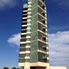 Photo taken at Price Tower by Brett B. on 10/7/2012