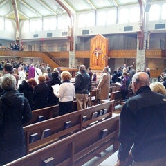 Photo taken at St Anne's Catholic Church by Tom T. on 2/24/2013