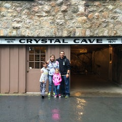 Photo taken at Crystal Cave by Mitchel C. on 8/20/2015