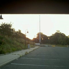 Photo taken at LIRR - Medford Station by Mikel K. on 8/31/2012