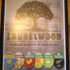 Photo taken at Laurelwood Public House & Brewery by Brenda S. on 2/18/2014