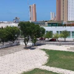 Photo taken at Praça Verde by Felipe S. on 2/20/2013