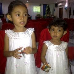 Photo taken at GKPB Kasih Kudus by Made C. on 12/24/2012