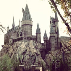 Photo taken at Harry Potter and the Forbidden Journey / Hogwarts Castle by Oliver E. on 11/15/2012
