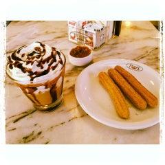 Photo taken at Fran's Café by Flavia O. on 4/20/2013