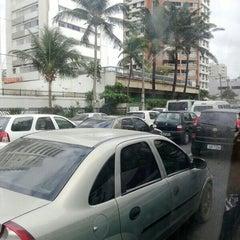 Photo taken at Avenida Bernardo Vieira de Melo by Fábio Z. on 3/1/2013