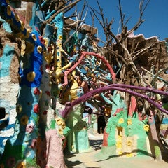 Photo taken at Salvation Mountain by mikey h. on 3/22/2013