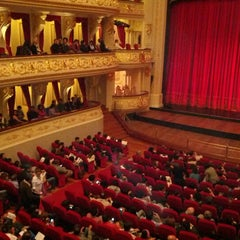 Photo taken at Teatro Municipal de Lima by Demis E. on 11/2/2012