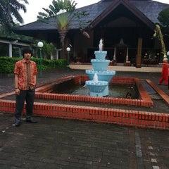 Photo taken at Gedung Wiladatika Cibubur by Rheza K. on 5/2/2015