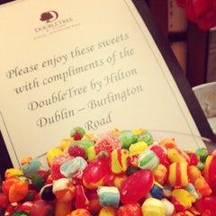 Photo taken at DoubleTree by Hilton Dublin - Burlington Road by Jay F Kay on 10/4/2013
