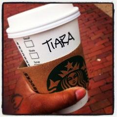 Photo taken at Starbucks by Tiara M. on 10/8/2012