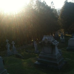 Photo taken at St. Augustine Cemetery by Daniel B. on 11/22/2012
