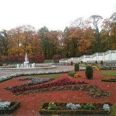 Photo taken at Kadrioru Loss | Kadriorg Palace by Özlem A. on 10/18/2015