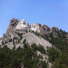 Photo taken at Mount Rushmore National Memorial by Joel G. on 8/26/2012