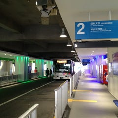 Photo taken at 松本バスターミナル by ひょん on 12/25/2012