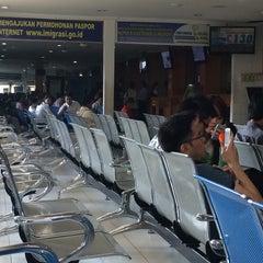 Photo taken at Kantor Imigrasi Kelas I Khusus Surabaya by Albert I. on 8/27/2014