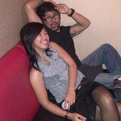 Photo taken at NAV Karaoke keluarga by robert s. on 10/22/2013