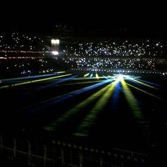 Photo taken at Fenerbahçe Şükrü Saracoğlu Stadyumu by Melih B. on 7/24/2013