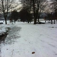 Photo taken at Hillsborough Park by Sebastian M. on 1/19/2013