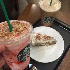 Photo taken at Starbucks (สตาร์บัคส์) by Grace on 6/28/2015