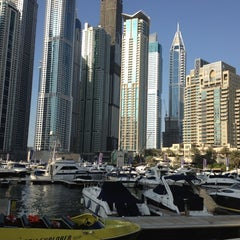 Photo taken at Dubai Marina Walk ممشى مرسى دبي by Omar A. on 10/19/2012