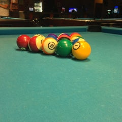 Photo taken at Baluka Billiards and Lounge by Edlyn P. on 5/5/2013