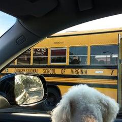 Photo taken at Congressional Schools Of Virginia by Ellen Y. on 8/20/2013