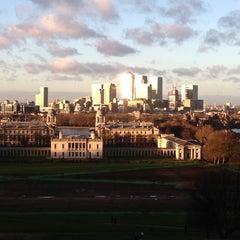 Photo taken at Greenwich Park by Karen W. on 1/1/2013