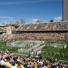 Photo taken at Bobby Dodd Stadium by Wesley B. on 10/20/2012