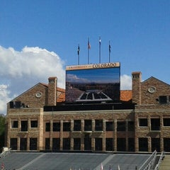 Photo taken at University of Colorado Boulder by Brianca C. on 5/10/2013