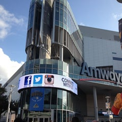 Photo taken at Amway Center by Maria M. on 4/28/2013