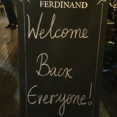 Photo taken at Ferdinand by Zaher A. on 9/30/2014