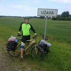 Photo taken at Užavas ciems by Jānis D. on 6/25/2013