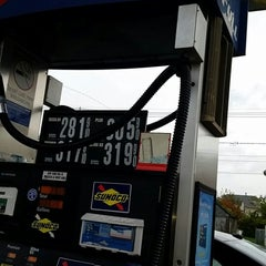 Photo taken at Sunoco by Christopher C. on 10/23/2014