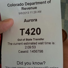 Photo taken at DMV by Melanie W. on 9/6/2013