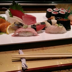 Photo taken at Sushi Koji by Phil Y. on 4/17/2014