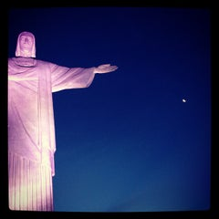Photo taken at Cristo Redentor by Marco G. on 2/15/2013