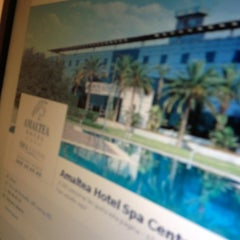Photo taken at Hotel Amaltea by Fran S. on 2/7/2013
