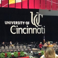 Photo taken at Fifth Third Arena by Stephanie W. on 4/27/2013