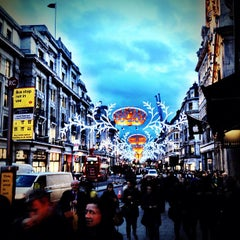 Photo taken at Oxford Circus by daniel h. on 11/23/2012