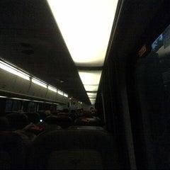 Photo taken at Amtrak Acela 2168 by Joe C. on 10/3/2012