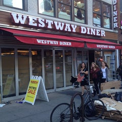 Photo taken at Westway Diner by Westway Diner on 5/28/2015