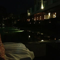 Photo taken at Pool Terrace Café & Bar by Sooyeon K. on 10/6/2012