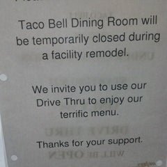 Photo taken at Taco Bell by Will L. on 9/3/2013