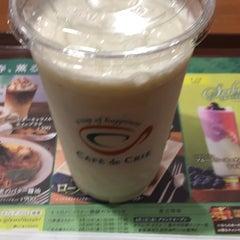 Photo taken at CAFÉ de CRIÉ 道玄坂上店 by shinya on 4/23/2015