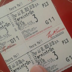 Photo taken at TGV Cinemas by Muhamad N. on 7/2/2015