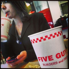 Photo taken at Five Guys by Michael L. on 3/13/2013